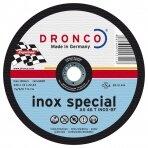 Pjovimo diskas DRONCO AS46 T INOX T41 (125 x 1,6 x 22,23