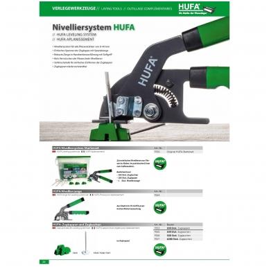 HUFA комплект системы выравнивания плиток в практичном ведре 3