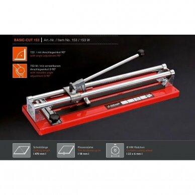 Плиткорез JOKOSIT BASIC-CUT 153W (470 мм) 2