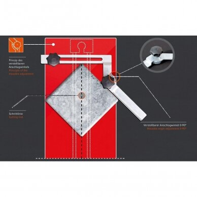 Плиткорез JOKOSIT BASIC-CUT 153W (470 мм) 4