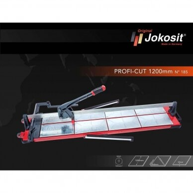 Plytelių pjaustymo staklės JOKOSIT PROFI CUT MAX (1200 mm) 3