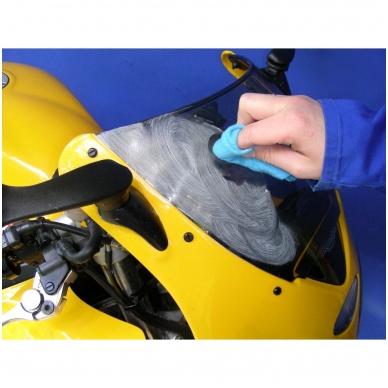 Poliravimo rinkinys plastikiniams paviršiams OSBORN (4 vnt.) 3