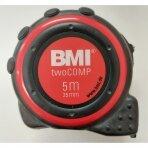 Ruletė BMI twoCOMP (5 m; 25 mm)