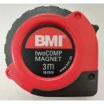 Ruletė BMI twoCOMP su magnetu (3 m)