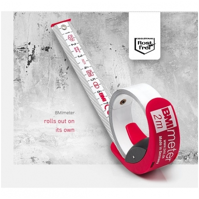 Ruletė BMImeter (2 m) 2