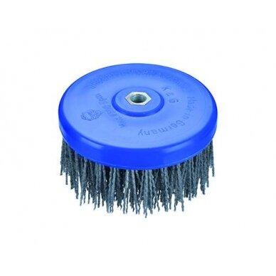 Šepetys su abrazyviniu nailonu OSBORN (Ø 130x70 mm) Novofil NN-S 80