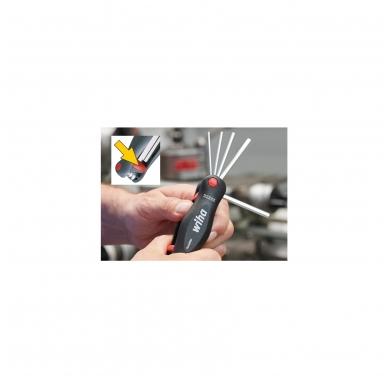 Šešiakampių raktų rinkinys WIHA PocketStar (8 vnt.) 2