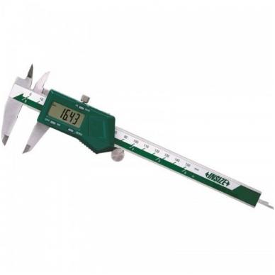Skaitmeninis slankmatis Insize (200 mm) su fiksavimo varžtu