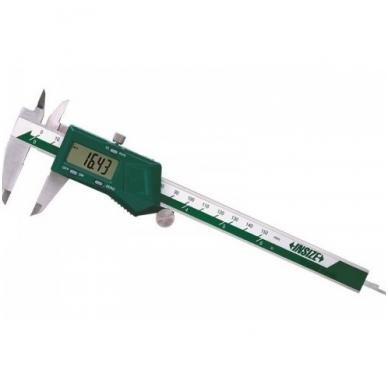 Skaitmeninis slankmatis Insize (300 mm) su fiksavimo varžtu