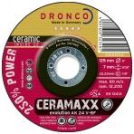 Šlifavimo diskas DRONCO AK 24 V CeraMaxx (125 x 7,0 x 22,23)