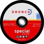 Šlifavimo diskas DRONCO AS30R T27 (180 x 6,0 x 22,23)