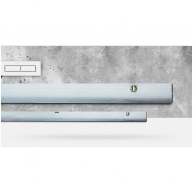 Stačiakampio formos aliuminio lyginimo profilis BMI (150 cm) 2