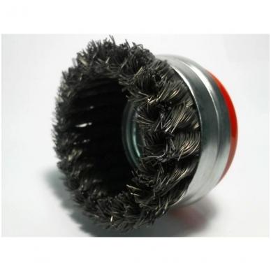 Taurės formos šepetys sukta viela OSBORN (Ø 100 mm; 0,50 mm) 2