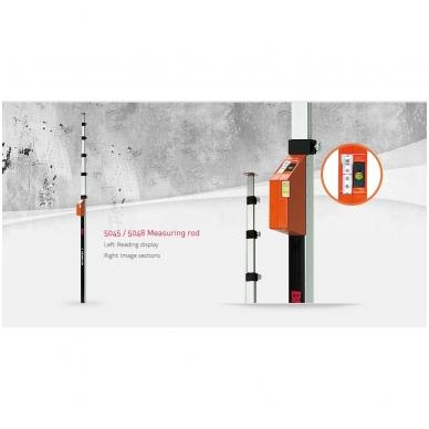 Teleskopinė matavimo liniuotė BMI (1,03 - 5,00 m) 3