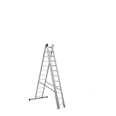 """Trijų dalių daugiafunkcinių kopėčių DRABEST """"PRO"""" 3x12 4"""