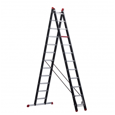 Trijų dalių kopėčios Mounter professional (3 x 12)