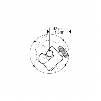 Vamzdžių pjaustiklis Super Ego MINICUT AL/CU (3-22 mm) 2