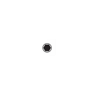 Šešiakampių L-formos raktų rinkinys WIHA Black finish (9 vnt.) 2
