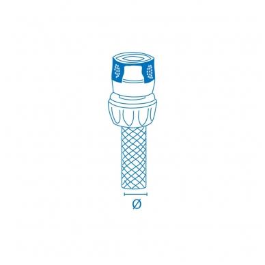 Žarnos adapteris Super Ego AQUASTOP (1/2-5/8; 12-15 mm) 3